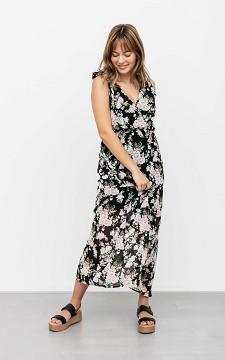 Dress Damian - Floral maxi dress