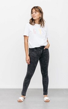 Jeans Laurien - High-waist skinny jeans