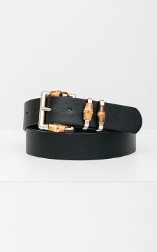 Belt Oliver - Belt with bamboo details