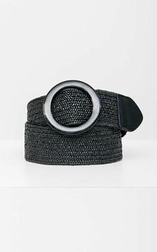 Belt Estelle - Belt with a round buckle