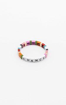 Bracelet Chance - Colourful elasticated bracelet