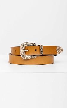 Belt Kyra - Belt with a patterned buckle