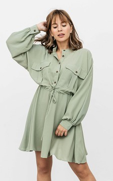 Dress Therry - Dress with chest pockets
