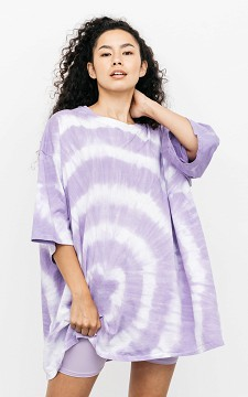 Shirt Tess - Oversized tie-dye shirt