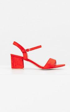 Heels Tina - Suède look heels