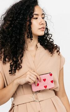 Purse Louis - Heart patterned purse