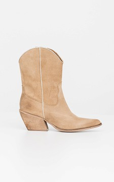 Boot Lopke - Leather cowboy boots