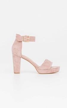 Heels Katie - Open heels with straps