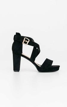 Heels Fleur - Open heels with straps