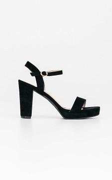 Heels Saar - Open heels with straps