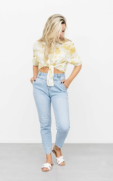 Jeans Nola - High waist mom jeans