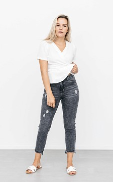 Jeans Katinka - 5-pocket high waist jeans