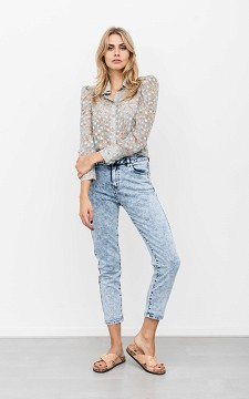Jeans Marileen - 5-pocket high waist jeans