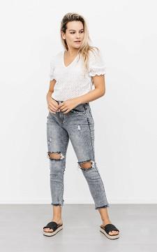 Jeans Sarah - Jeans mit Destroyed-Effekt