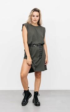 Dress Chloe - Dress with shoulder padding