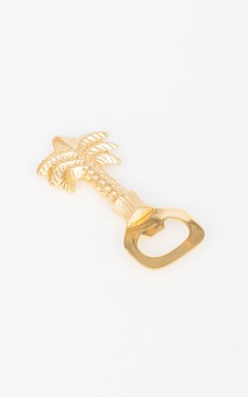 Opener Palm - Gold coated palmtree bottle opener