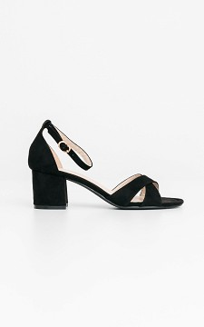 Heels Aloysa - Heels with ankle straps and buckles