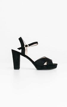 Heels Carola - Suède look heels