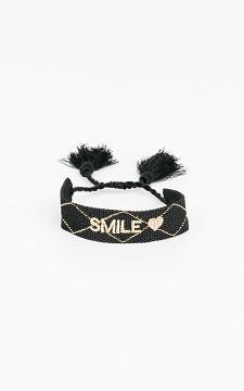Bracelet Happy - Adjustable bracelet with tassels
