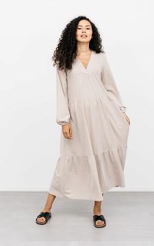 Dress Chantal - Maxi dress with a V-neck