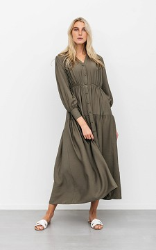 Dress Roy - Maxi dress with buttons