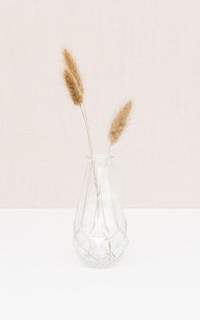 Vase Marian - Clear glass vase