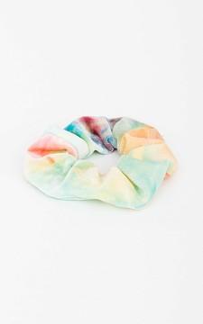 Scrunchie Ted - Velvet tie-dye scrunchie