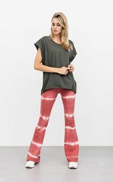 Broek Tessa - Tie dye flared broek