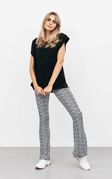 Trousers Jasmijn - Flared & patterned trousers