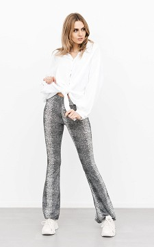 Trousers Babeth - Flared & patterned trousers