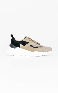 Sneaker Vienna - Leather sneakers with thick soles
