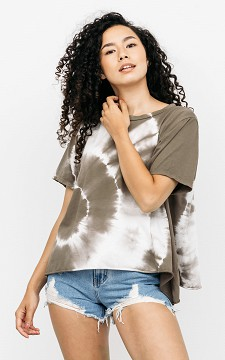 Shirt Kate - Oversized tie-dye T-shirt
