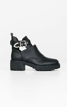 Boots Lex - Cut out boots with silver details