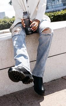 Jeans Mischa - Destroyed Jeans mit Schlitz