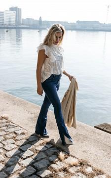 Jeans Liesbeth - Flared mid-waist jeans