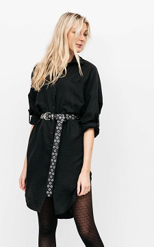 Dress Janny - Blouse-dress with buttons