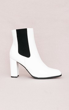 Boot Paula - Lined boots with elasticated sides