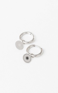 Earrings Sita - Stainless steel earrings