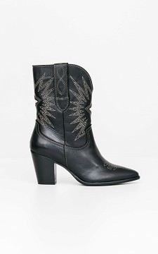 Boot Lieneke - Cowboy boots with zips