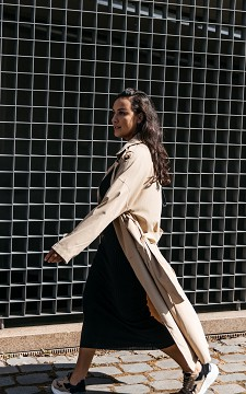 Jacket Fiona - Trench coat with a belt