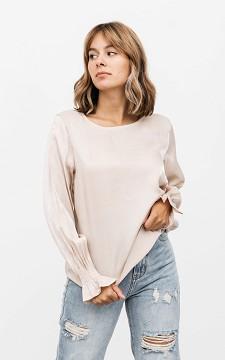 Top Kelly - Silk look blouse