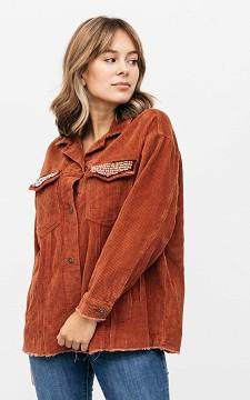 Jacket Sophie - Corduroy jacket with studs