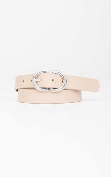 Belt Julia - Belt with an oval shaped buckle