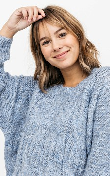 Sweater Jael - Cable knit sweater