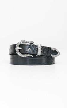 Belt Janna - Belt with a snake buckle