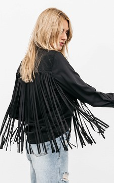 Blouse Romee - Blouse with fringes
