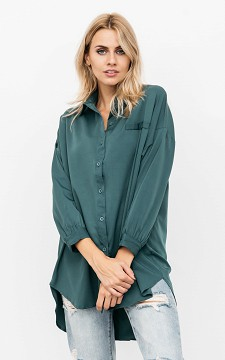Blouse Mia - Long blouse with buttons