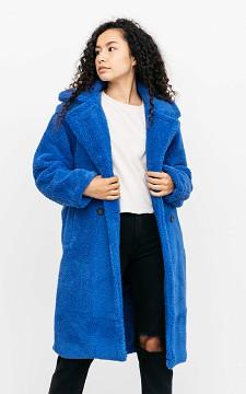 Mantel Wilke - Oversized teddy jas