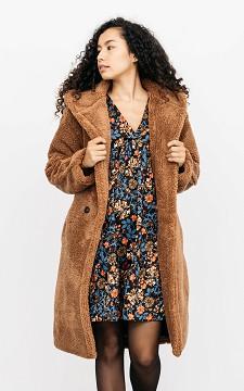 Cloak Maj - Oversized teddy coat