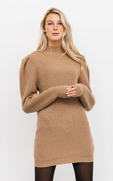 Sweater Pien - Long sweater with balloon sleeves